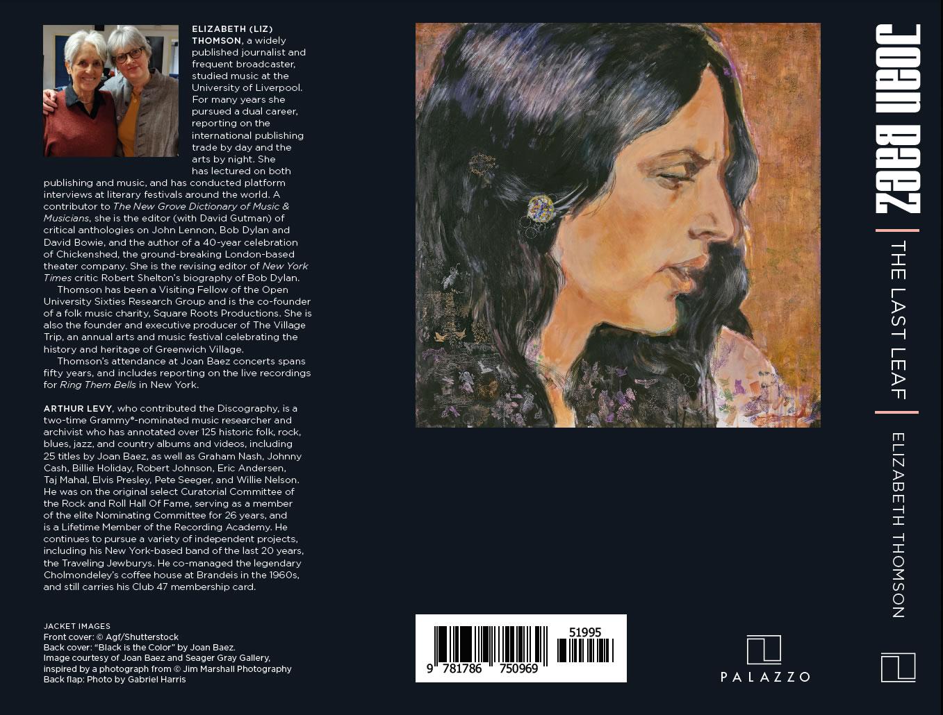 Joan Baez The Last Leaf back cover